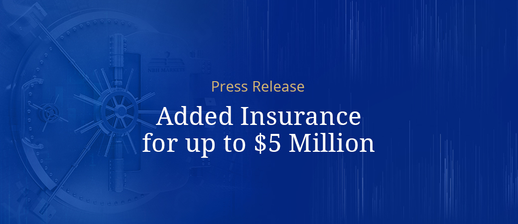Added Insurance for up to $5 Million